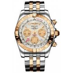 Breitling Chronomat 44 GMT (Steel & Rose Gold) Caliber 05 Automatic Chronograph CB042012.G755.375C