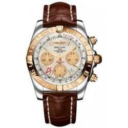 Breitling Chronomat 44 GMT (Steel & Rose Gold) Caliber 05 Automatic Chronograph CB042012.G755.737P