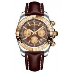 Breitling Chronomat 44 GMT (Steel & Rose Gold) Caliber 05 Automatic Chronograph CB042012.Q590.437X