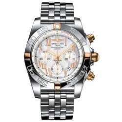 Breitling Chronomat 44 (Two-Tone) Caliber 01 Automatic Chronograph IB011012.A693.375A