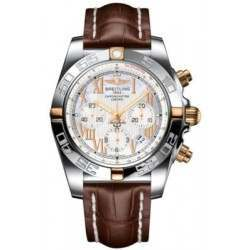Breitling Chronomat 44 (Two-Tone) Caliber 01 Automatic Chronograph IB011012.A693.739P