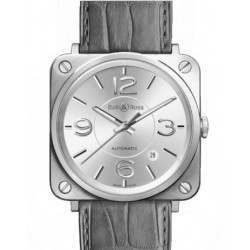 Bell & Ross BR S Officer BRS92-SI-ST/SCR