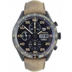 Tag Heuer Carrera Day-Date Chronograph Black Titanium CV2A84.FC6394