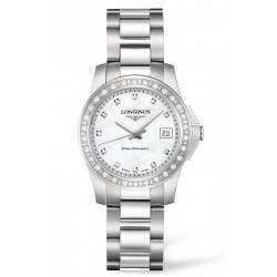 Longines Conquest Quartz Ladies 29.5mm L3.258.0.88.6