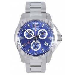 Longines Conquest Quartz Chronograph 41mm L3.700.4.96.6