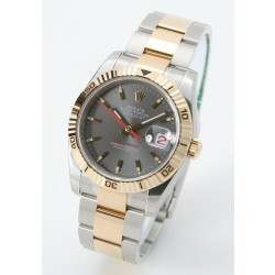 Rolex Turn o Graph - 116264, Anthracite Dial