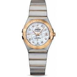 Omega Constellation Brushed Chronometer 123.20.27.20.55.003
