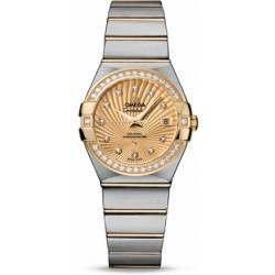 Omega Constellation Brushed Chronometer 123.25.27.20.58.001