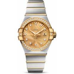 Omega Constellation Brushed Chronometer 123.25.31.20.58.001