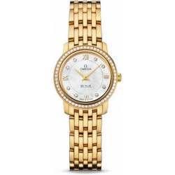 Omega De Ville Prestige Quartz Diamonds 424.55.24.60.55.001