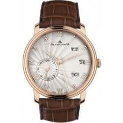 Blancpain Villeret Annual Calendar with GMT 6670-3642-55B
