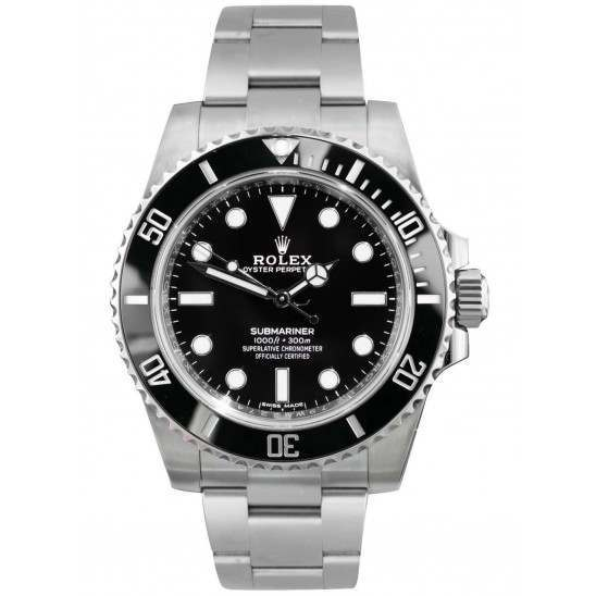 As New Rolex Submariner Steel Non Date 40mm 114060
