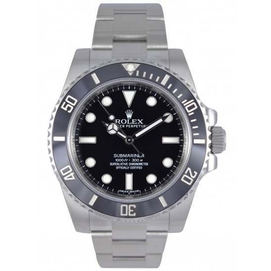 Rolex Submariner Stainless Steel Non Date 114060