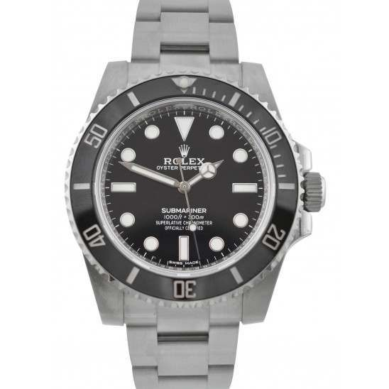 Unworn Rolex Submariner Steel Non Date 40mm 114060