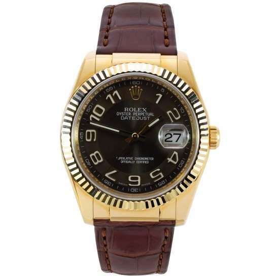 Rolex Datejust 36mm Yellow Gold 116138