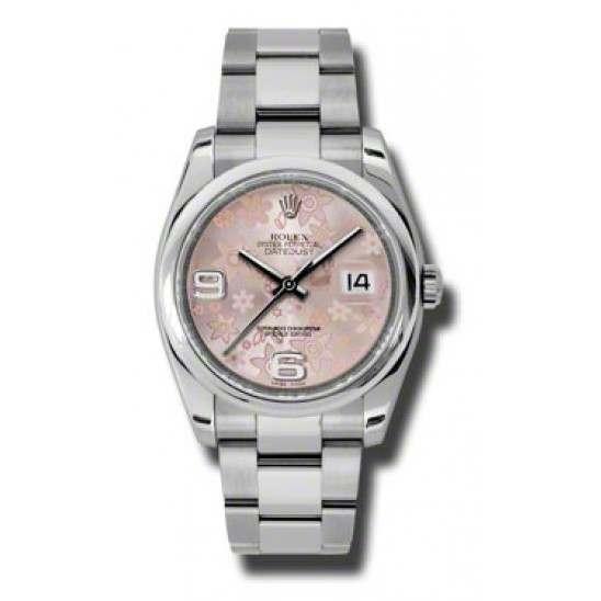 Rolex Datejust Pink Arab Oyster 116200