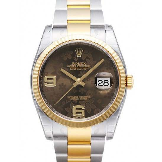 Rolex Datejust Bronze Arab Oyster 116233
