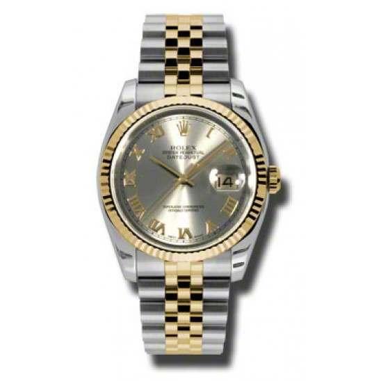 Rolex Datejust Steel Roman Jubilee 116233