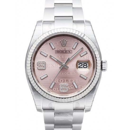 Rolex Datejust Pink/Diamond Oyster 116234