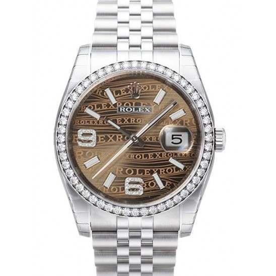 Rolex Datejust Bronze/Diamond Jubilee 116244