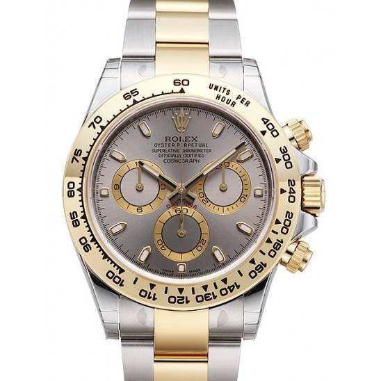 Rolex Cosmograph Daytona Steel & Gold Steel/index 116503
