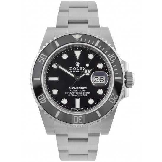 Rolex Submariner Stainless Steel Date Black Dial 116610LN