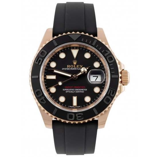 As New Yacht-Master 40mm Everose Gold 116655