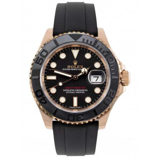 As New Rolex Yacht-Master 40mm Everose Gold 116655