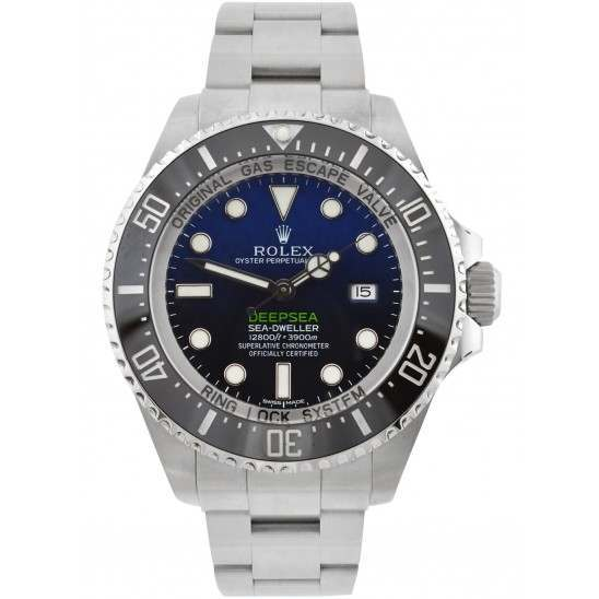 "Rolex Sea-Dweller Deepsea D-Blue Index Dial Oyster 116660 ""James Cameron"""