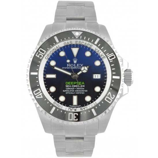 Rolex Sea-Dweller Deepsea D-Blue/index Oyster 116660