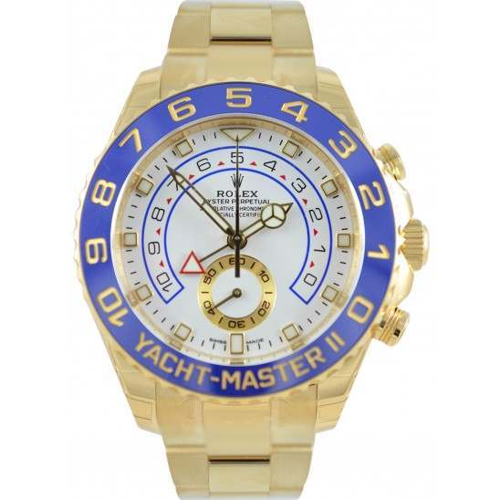 Rolex Yacht-Master II 44mm Gold Hands Oyster 116688