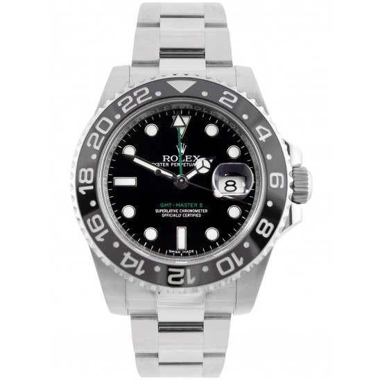 Rolex GMT-Master II Black Dial 116710LN - 2018