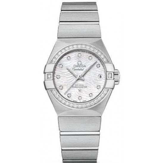 Omega Constellation Brushed Chronometer Automatic 123.15.27.20.55.003