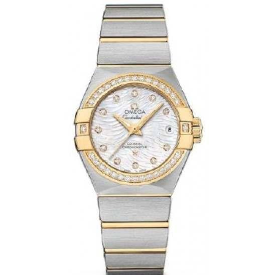 Omega Constellation Brushed Chronometer Automatic 123.25.27.20.55.007