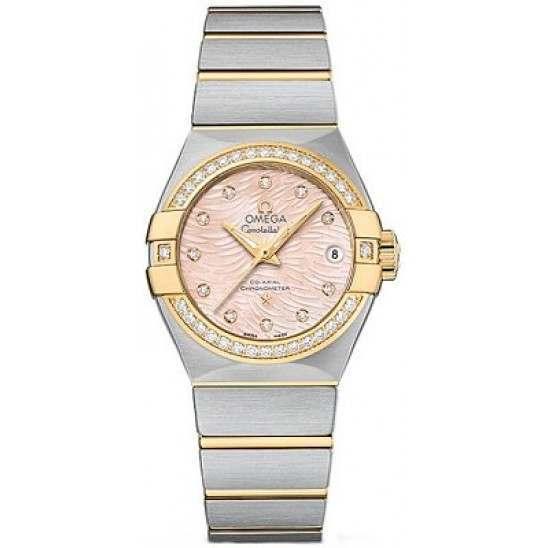 Omega Constellation Brushed Chronometer Automatic 123.25.27.20.57.005