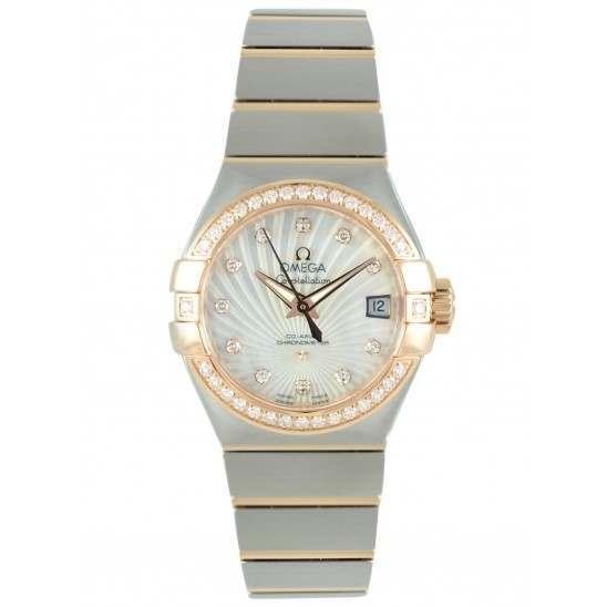 Omega Constellation Brushed Chronometer 123.25.27.20.55.001
