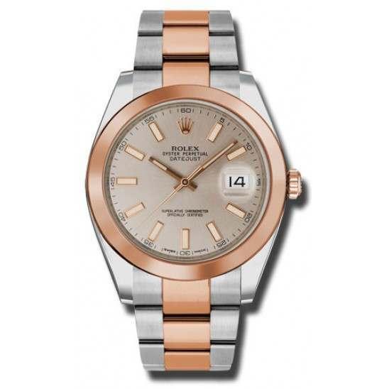 Rolex Datejust 41 Sundust/ Index Oyster 126301