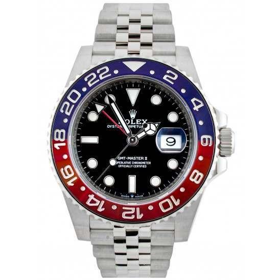 Rolex GMT-Master II Stainless Steel 126710BLRO Pepsi