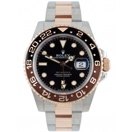 "Rolex GMT-Master II Everose Rolesor ""Root Beer"" 126711CHNR"