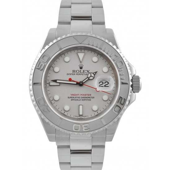 Rolex Yachtmaster Platinum Dial Oyster 16622
