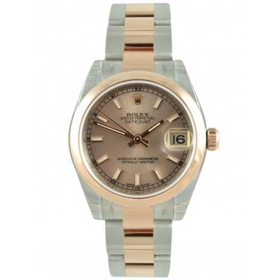 Rolex Lady Datejust 31mm Pink/index Oyster 178241