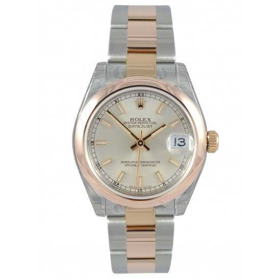 Rolex Lady Datejust 31mm Silver/index Oyster 178241