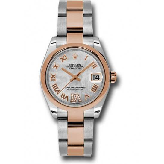 Rolex Lady Datejust 31mm White mop Roman Oyster 178241