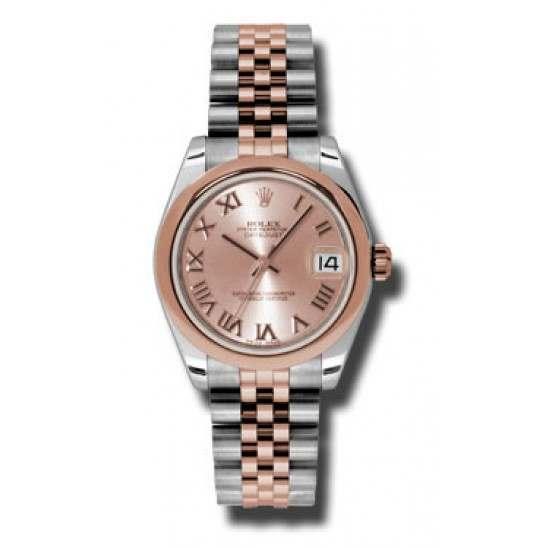 Rolex Lady Datejust 31mm Pink Roman Jubilee 178241