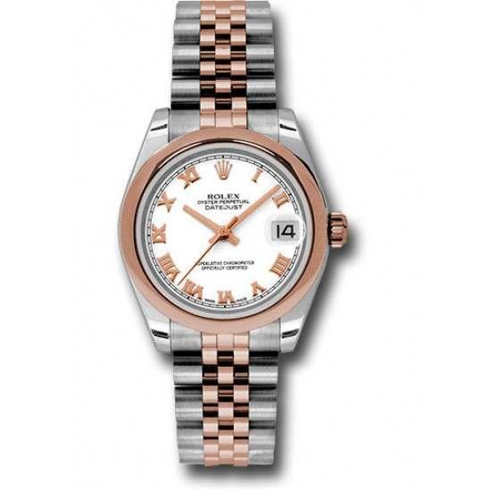 Rolex Lady Datejust 31mm White Roman Jubilee 178241