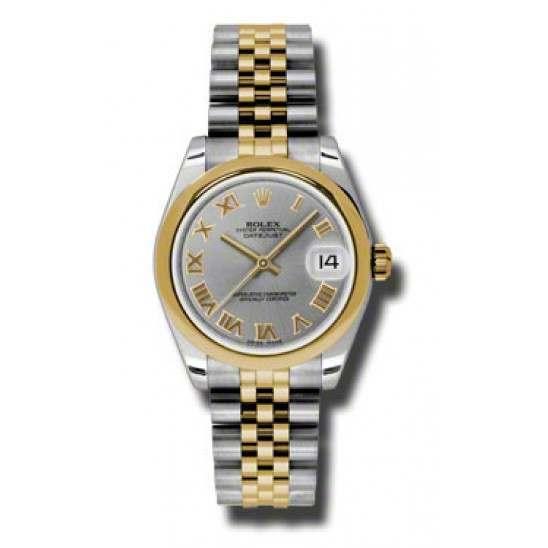 Rolex Lady Datejust 31mm Steel Roman Jubilee 178243