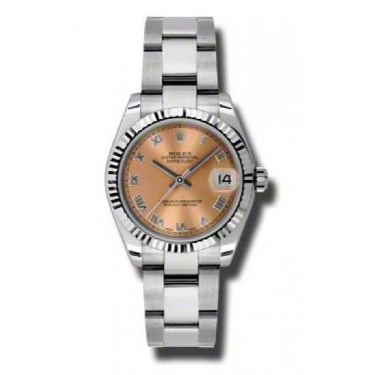 Rolex Lady Datejust 31mm Pink Roman Oyster 178274