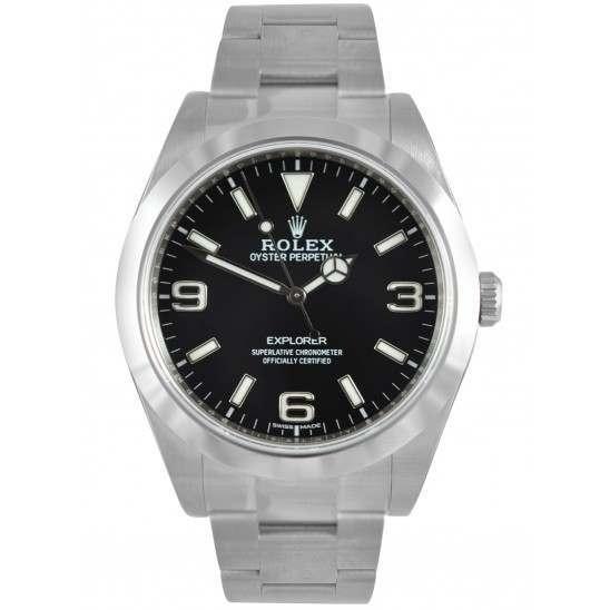 Rolex Explorer I Black Dial Baselworld 214270