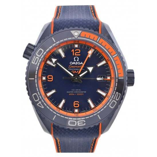 Omega Seamaster Planet Ocean 600 M Chronometer GMT 215.92.46.22.03.001