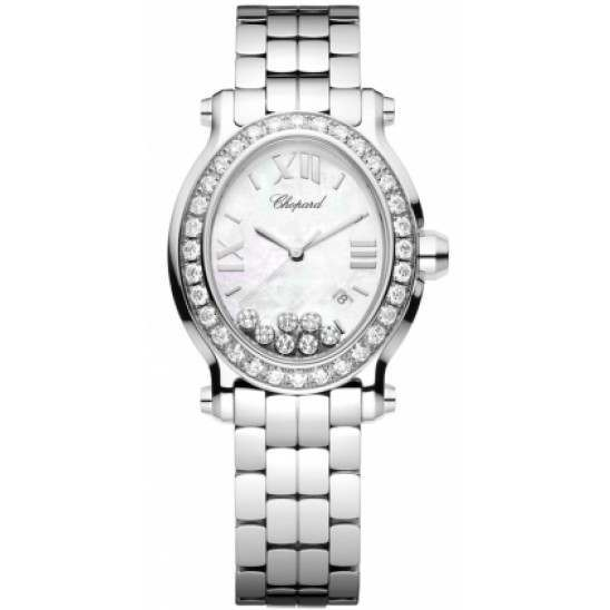 Chopard Happy Sport Oval 7 Floating Diamonds 278546-3004